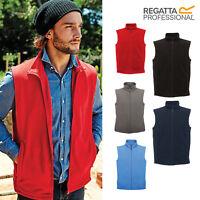 Regatta Professional Microfleece Bodywarmer TRA801-Men's Ladies Plain Zip Gilet