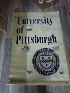 🔥 University Pittsburgh Pitt Panthers Street Light Hung Huge Banner Welcome