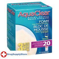 RA Foam Filter Insert for AquaClear 20/Mini - 3 pk