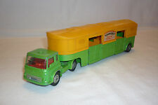 CORGI MAJOR TOYS - METALLMODELL - BEDFORD  ARTICULATED HORSE BOX  - (CORGI-T-27)