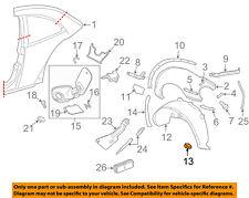 VW VOLKSWAGEN OEM 98-10 Beetle-Fender Liner U-nut N0154391