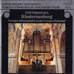 Georges Athanasiades: STIFTSBASILIKA KLOSTERNEUBURG Haydn, Mozart LvB Purcell CD