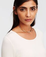 Ann Taylor Crystal Pave Collar Choker Necklace NWT $49.50
