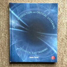 Audio Production & Critical Listening - Jason Corey (Hardback) Very Good Condit.