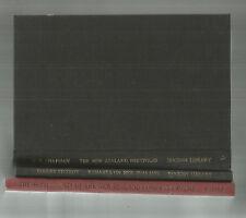 SETTLEMENTS OF NEW ZEALAND COMPANY + PORTFOLIO + REMARKS Hcs 3 Books Facsimiles
