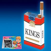 BANG CIGARETTE IN PACK EXPLODING GAG JOKE PRANK NOVELTY TRICK MAGIC PARTY TOY