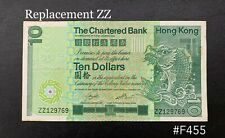 Hong Kong - 1981 $10 ( The chartered bank )   GVF