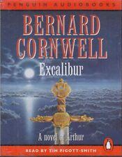 Excalibur Bernard Cornwell 4 Cassette Audio Book Tim Pigott Smith Arthur Novel