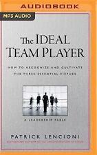 The Ideal Team Player How Recognize Cultivate Three E by Lencioni Patri CD-AUDIO
