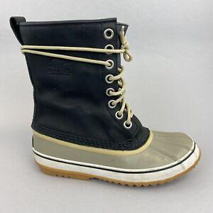 Sorel Premium Insulated Duck Rubber Snow Waterproof Walking Hiking Boots UK6.5