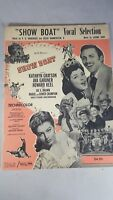 """1951 """"SHOW BOAT"""" MOVIE SHEET MUSIC SONG BOOK - """"VOCAL SELECTION"""""""