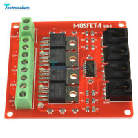 MOSFET Switch Module Four Channel 4 Route MOSFET Button IRF540 V2.0 For Arduino