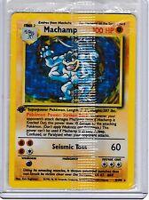 Machamp Original Pokemon Card, Base Set, First Edition, 8/102 - Factory Sealed