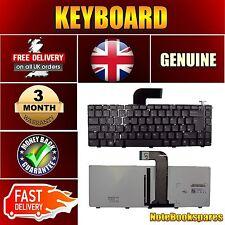 New DELL VOSTRO V3460 V3560 V3450 V3550 V131 04341X UK Keyboard Black Backlit