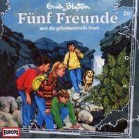 """FÜNF FREUNDE """"UND DIE GEHEIMNISVOLLE STADT (FOLGE 28)"""" CD HÖRBUCH NEUWARE"""