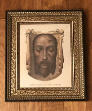 Holy Face of Jesus 8x10 Framed Picture - Veronica's Veil