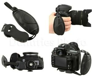 Camera Hand Grip Strap for DSLR s (Universal: Fits Canon Nikon Sony Pentax etc)