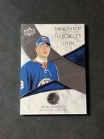 2019-20 UPPER DECK EXQUISITE NOAH DOBSON ROOKIE SILVER R-ND #ed 129/299