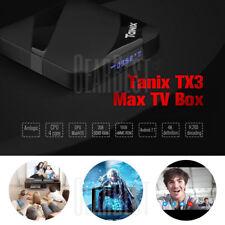 Tanix TX3 Max Android 7.1 BT4.1 Quad Core TV Box 4K H.265 2GB+16GB EU