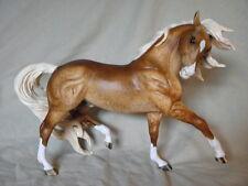 Breyer Horse Statue OOAK CM/Custom Andalusian Esprit Chocolate Palomino