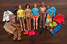 Vintage Barbie MOD KEN Doll & Clothing LOT