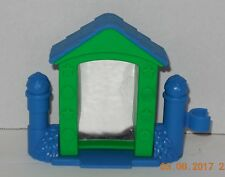 Fisher Price Current Little People Blue & green funhouse mirror FPLP Accessory