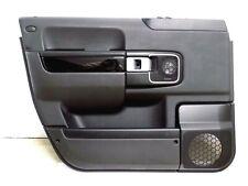 2007-2012 LAND ROVER RANGE ROVER L322 LEFT FRONT DOOR PANEL TRIM CARD BLACK