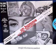 UNE HOMME ET UNE FEMME SOUNDTRACK LP 1966 FRANCE ORIGINAL MAN & A WOMAN RARE