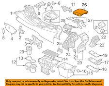 AUDI OEM 15-16 Q3 Quattro Center Console-Armrest Lid Cover Top 8U0864207NHB9