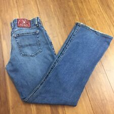 Lucky Brand Jeans Women's Size 8/29 Mid Rise Dungarees Flare Denim