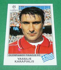 N°179 KARAPIALIS OLYMPIAKOS PANINI FOOTBALL CHAMPIONS LEAGUE 1999-2000