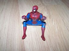 "Spider-Man Spiderman Action Figure 5"" Sitting Crawling Position Rides Cycle EUC"