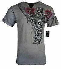 XTREME COUTURE by AFFLICTION Men's T-Shirt NEXUS Tattoo Biker MMA