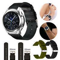 For Samsung Galaxy Watch 42mm/46mm Gear S3 Replacement Nylon Sport Band Strap US