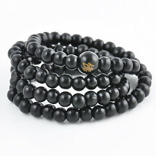 Sandalwood Buddhist Buddha Meditation Prayer Bead Mala Bracelet / Necklace 6mm