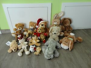 Stofftiere Kuscheltiere Teddybär Hunde Hasen Bambia Gund Nici Bob der Bär TCM