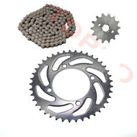 428 Chain 140L + Front Rear Sprocket for Honda CT110 CRF50 CRF70 KLX110 KX65