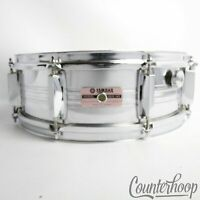 """*Yamaha SD-350MG 14x5.5""""Snare Drum Steel 8-Lug Chrome Vintage 80s Made In Japan*"""