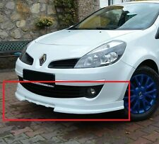 RENAULT CLIO 3 MK3 FRONT BUMPER VALANCE / SPOILER NEW