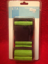 ETA Ajustable Nylon Luggage Strap Green NIP