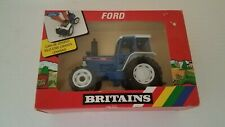 Britains Petite Limted 1987 Ford Tractor 9527 1:32 Scale Model 5610 Cab Driver