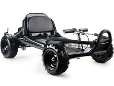 MotoTec SandMan Gas Go Kart 49cc Black - Mt-Gk-10