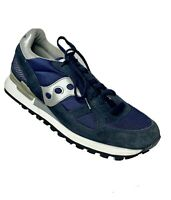 Saucony Men's US 9 Shadow Original Classic Walking Running Shoes  Blue & White