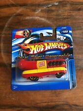 Oscar Mayer Wienermobile Hot Wheels Car No.189 2006