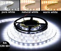 High Quality CRI 90+ RA 90+ 5M White 5630 SMD LED Flexible Strip 12V DC 300 LED