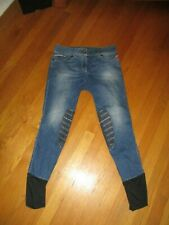 Ladies Animo Nordwin Equestrian Gripping System Breeches Jeans I-40 D-34 Italy