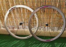 Wheelset Campagnolo SHAMAL  700c 12&16 Spoke  Clincher titanium