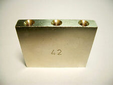 Schaller Tremolo Block 42 mm vernickelt