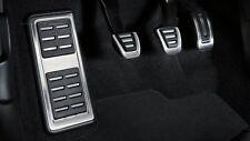 Original Audi A4 8K A5 8T Q5 8R Fußstütze und Pedalkappen Edelstahl für Schalter