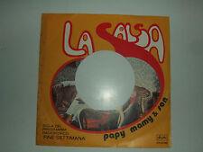 """Papy, Mamy & Son – La Salsa  – Copertina Forata Per Disco Vinile 45 Giri 7"""""""